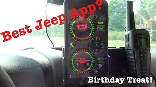 BEST JEEP APP - Smitty Bilt Clinometer! (a birthday treat