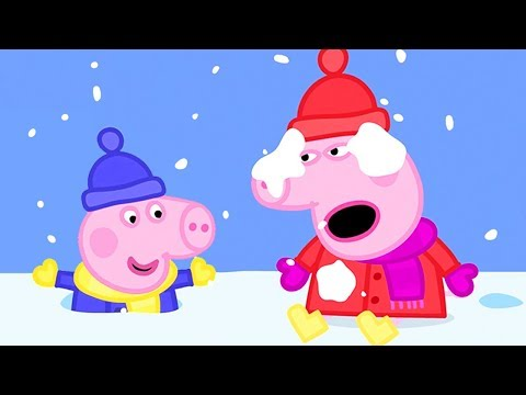 Peppa Pig in Hindi - Snow - Barf ❄️ हिंदी Kahaniya - Hindi Cartoons for Kids