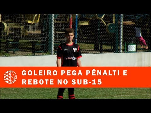 TV EJ: Goleiro Sub-15 Do Metropolitano Fala Do Pênalti Defendido