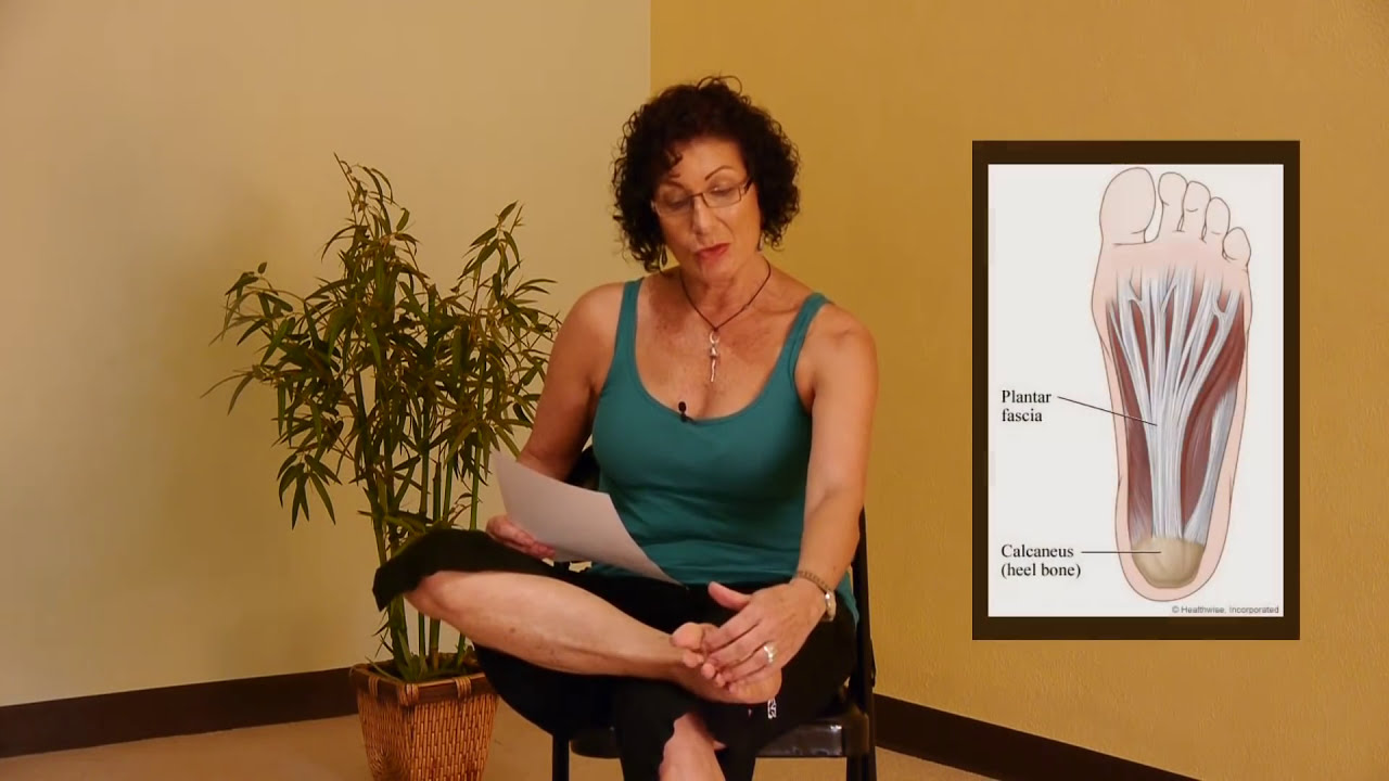 5 Effective Exercises For Plantar Fasciitis With Lulu Peelle Yoga Therapist Youtube