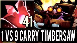 WTF!! 31 Kills 1 Deaths 7.06 META is Here! Carry Timbersaw Gameplay by Kingrd Dota 2