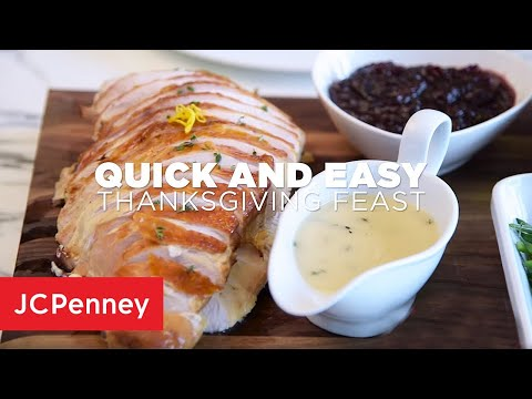 Recipe: Quick and Easy Thanksgiving Feast | JCPenney