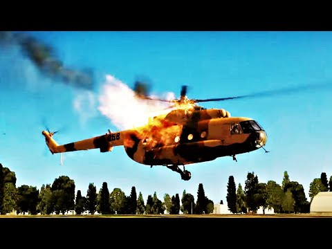 DCS World Helicopter Crashes Compilation #1 1080p