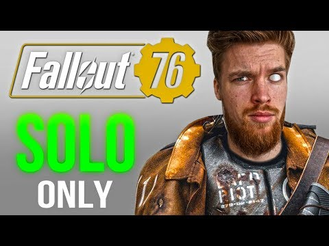 Fallout 76: SOLO Melee Build Gameplay Walkthrough (Part 1)