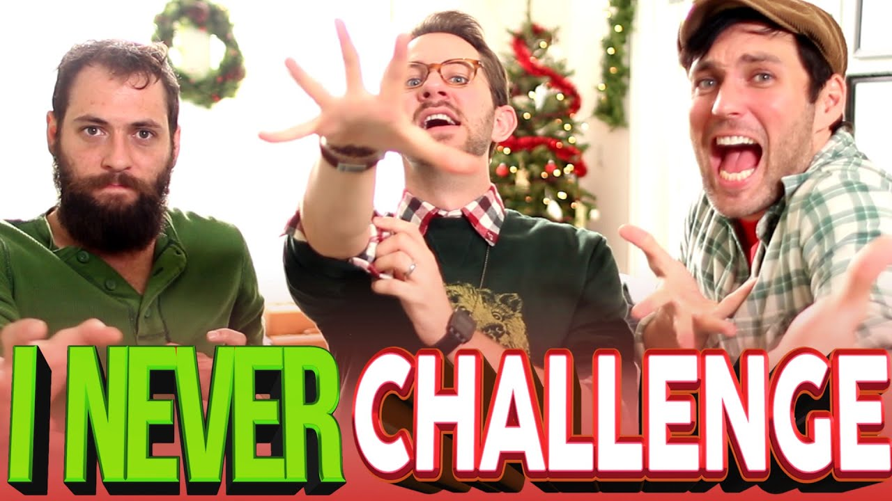 I NEVER CHALLENGE | The Brothers Riedell