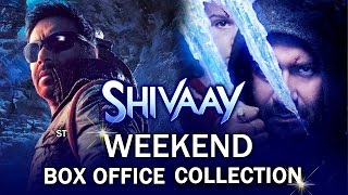 Ajay Devgn's SHIVAAY Weekend Box Office Collection - Rock Steady