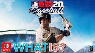 RBI Baseball 20 Nintendo Switch first gameplay thought
