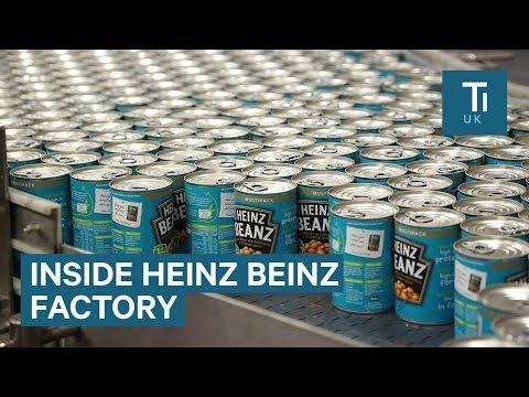 Inside The World's Biggest Baked Bean Factory