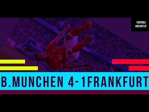 Bayern Munich vs Eintracht Frankfurt 4-1 Goal&Hightlight  28-04-2018#Footballhighlight