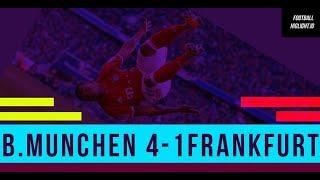 Bayern Munich vs Eintracht Frankfurt 4-1 Goal&Hightlight  28-04-2018#Footballhighlight