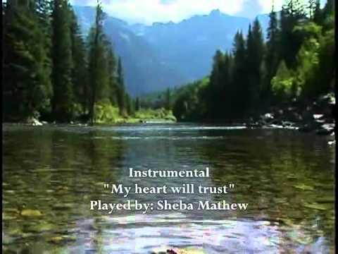 My heart will trust - hillsong (instrumental)