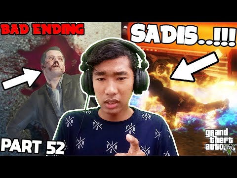 Bad Ending !!! Bunuh Trevor dan Michael - Grand Theft Auto 5 (PC) Part 52 (End)