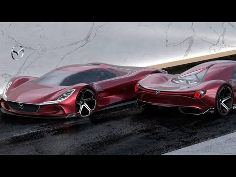 1,030-HP Mazda RX-10 Vision Is A Hydrogen-Powered Hypercar Concept
