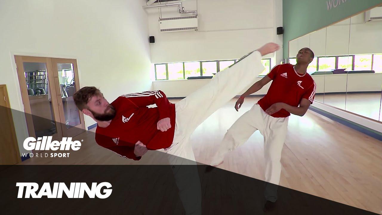 Download Taekwondo Training with Damon Sansum | Gillette World Sport