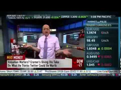 Cramer - Peck was best on Twitter pre-IPO