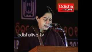 J. Jayalalitha - Speech - Utkal Diwas - Chennai