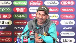 Exclusive Pakistan Captain Sarfaraz Ahmed pre-tournament press conference at Trent Bridge   #cwc19