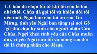 31 - Jêsus Chọn Tôi