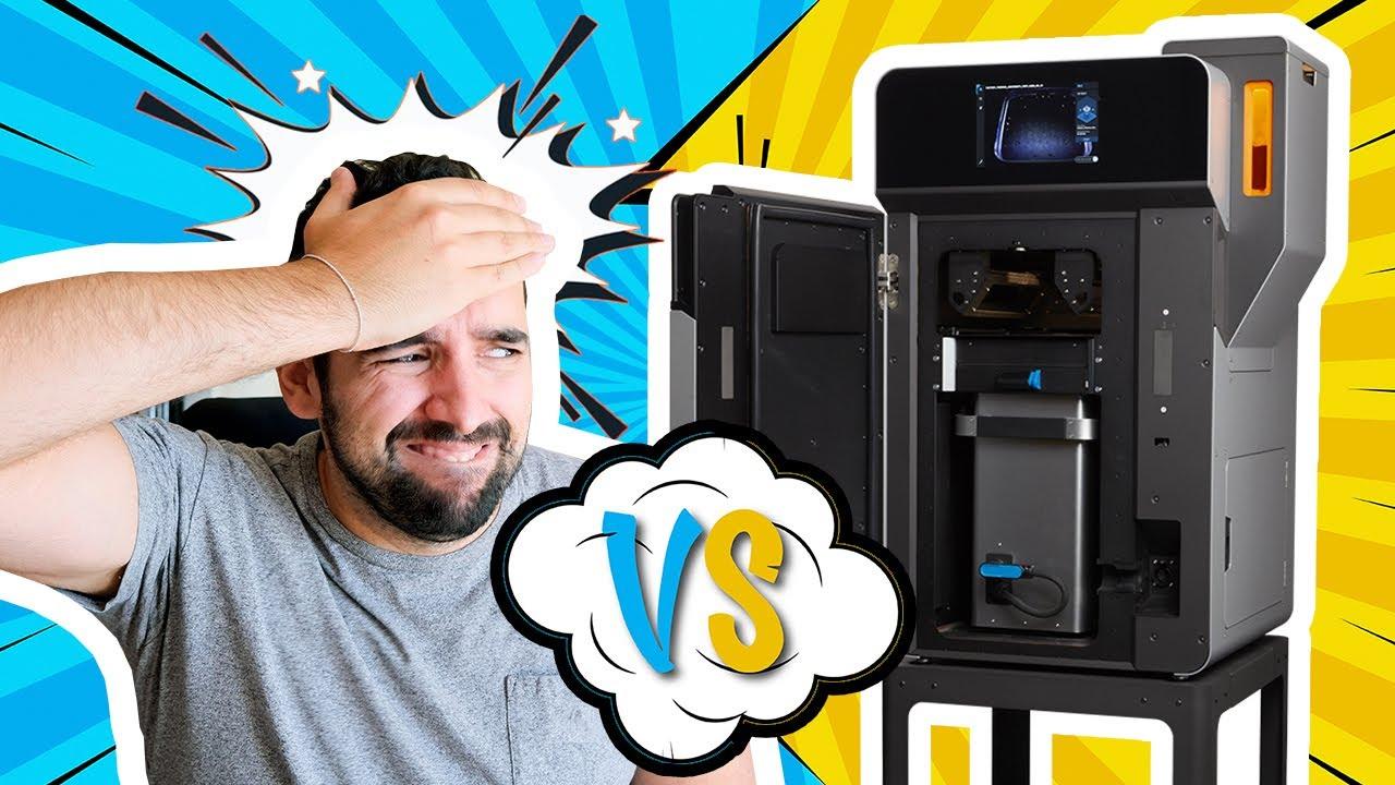 PRUEBO una Impresora 3D INDUSTRIAL ⚠️SIN TENER NI IDEA⚠️  | Impresora de polvo FormLabs FUSE