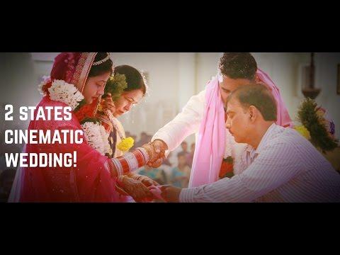 2 STATES CINEMATIC WEDDING FILM in Palakkad Kerala