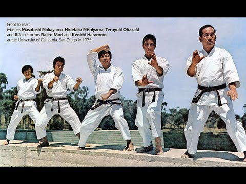 Traditional Shotokan Karate