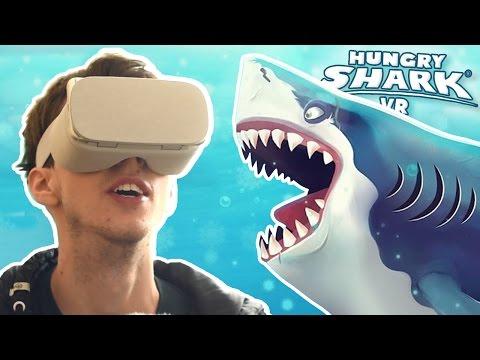 SHARK VR!!! - Hungry Shark World VR | HD