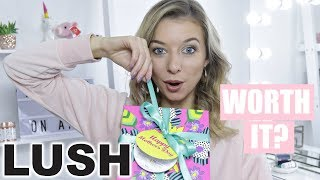 LUSH MOTHERS DAY BOX UNBOXING | *WORTH IT?*