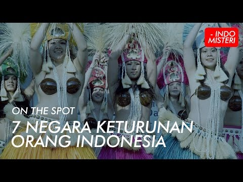 On The Spot - 7 Negara Keturunan Orang Indonesia.