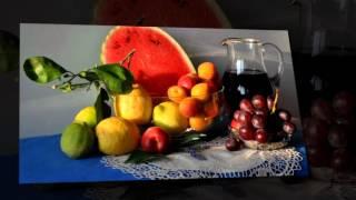 видео Натюрморт с фруктами