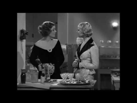 Evelyn Prentice (1934) Pre-code ~ Una Merkel,  Myrna Loy , Rosalind Russell ,scene.