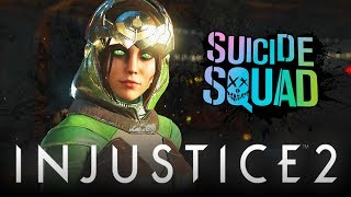 "Injustice 2: Enchantress ""Intro Dialogue"" VS ALL Suicide Squad Movie Characters! (Enchantress DLC)"
