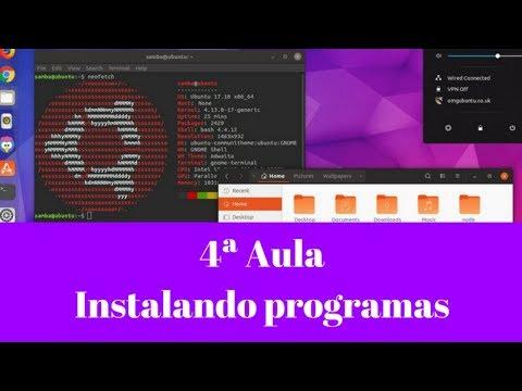 4ª Aula - Instalação de apps no Linux