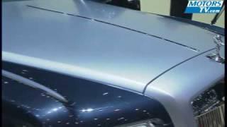 Les voitures de luxe au Salon automobile de Genève 2009