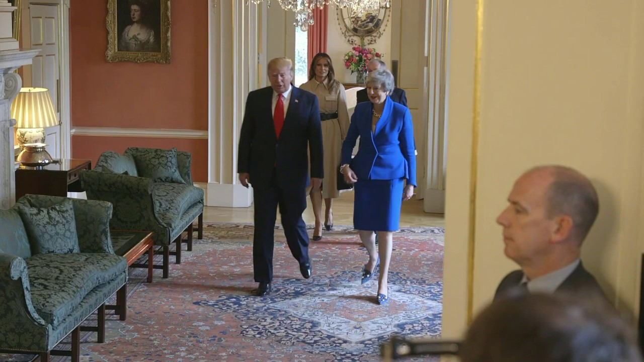 The White House - President Trump and First Lady Melania Trump's Visit to the United Kingdom -