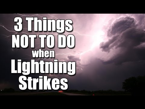 Lightning Strikes These 3 Activities Most