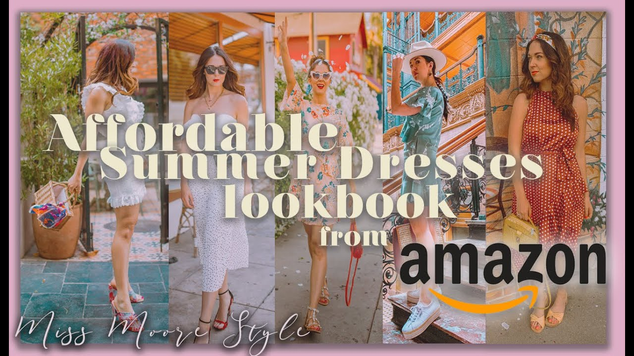 AMAZON SUMMER 2019 LOOKBOOK: AFFORDABLE SUMMER DRESSES TO GET NOW 1