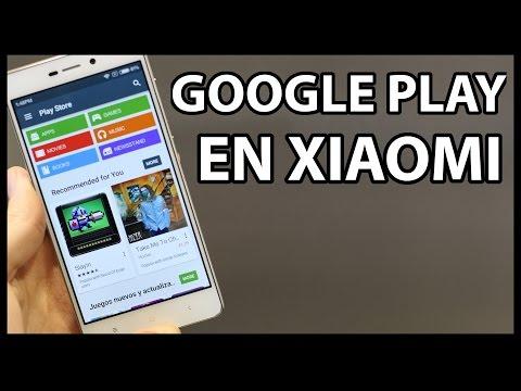 Como instalar GOOGLE PLAY en moviles Xiaomi / + PLAY SERVICES