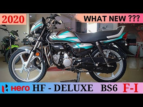 Bs6 Hero Hf Deluxe 2020 Fi Detailed Review Price Youtube