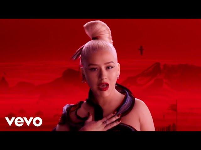 "Christina Aguilera - Loyal Brave True (From \""Mulan\""/Official Video)"