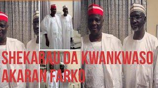 Kwankwaso ya gana da Shekarau a karan Farko jiya a Abuja