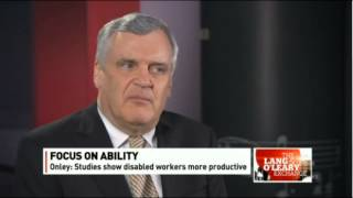 David Onley, Lieutenant Governor of Ontario :Business Case for Hiring People with Disabilities