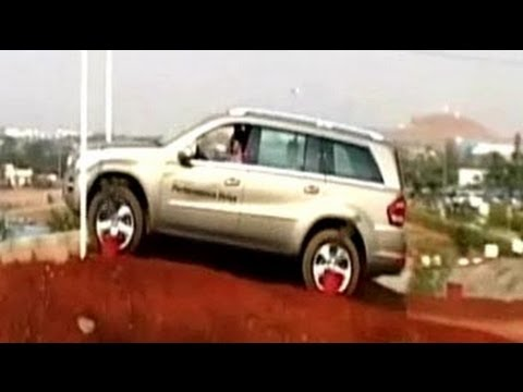 Mercedes-Benz's New SUV Test Track In Pune