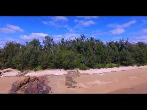 [4K] 金武海岸  Drone Footage   okinawa islands Japan 沖縄 ドローン