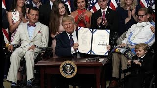 LIVE: President Trump SIGNS Lowest Price Act & Patient Right to Know Drug Prices Act
