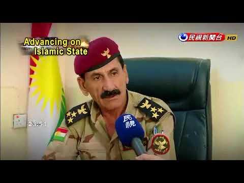 FTV correspondents interview Kurdish Peshmerga forces on Isis frontline