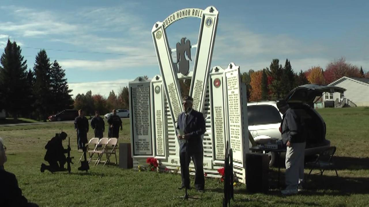 'Busco Veterans' Memorial  10-5-13