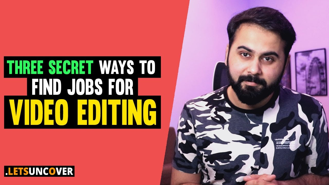 Download 3 Secret Ways to Find Video Editing Jobs, Earn Money from Video Editing, Find Video Editing Clients