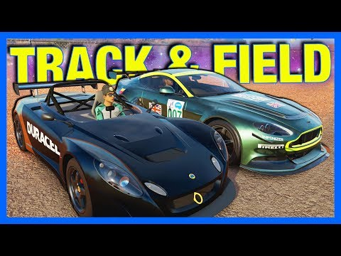 Forza Horizon 3 Online : TRACK AND FIELD!!