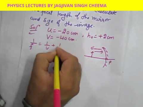 numericals on light class 10 pdf
