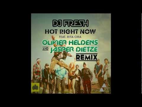 DJ FRESH & RITA ORA. DJ Fresh ft. Rita Ora - Hot Right Now (Olivier Heldens & Jasper Dietze Remix) - послушать онлайн mp3 на максимальной скорости